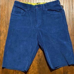 NWT- Analog Blue Corduroy Shorts Size 32